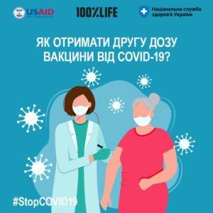 «Гаряча лінія» з питань COVID-19: як отримати другу дозу вакцини?